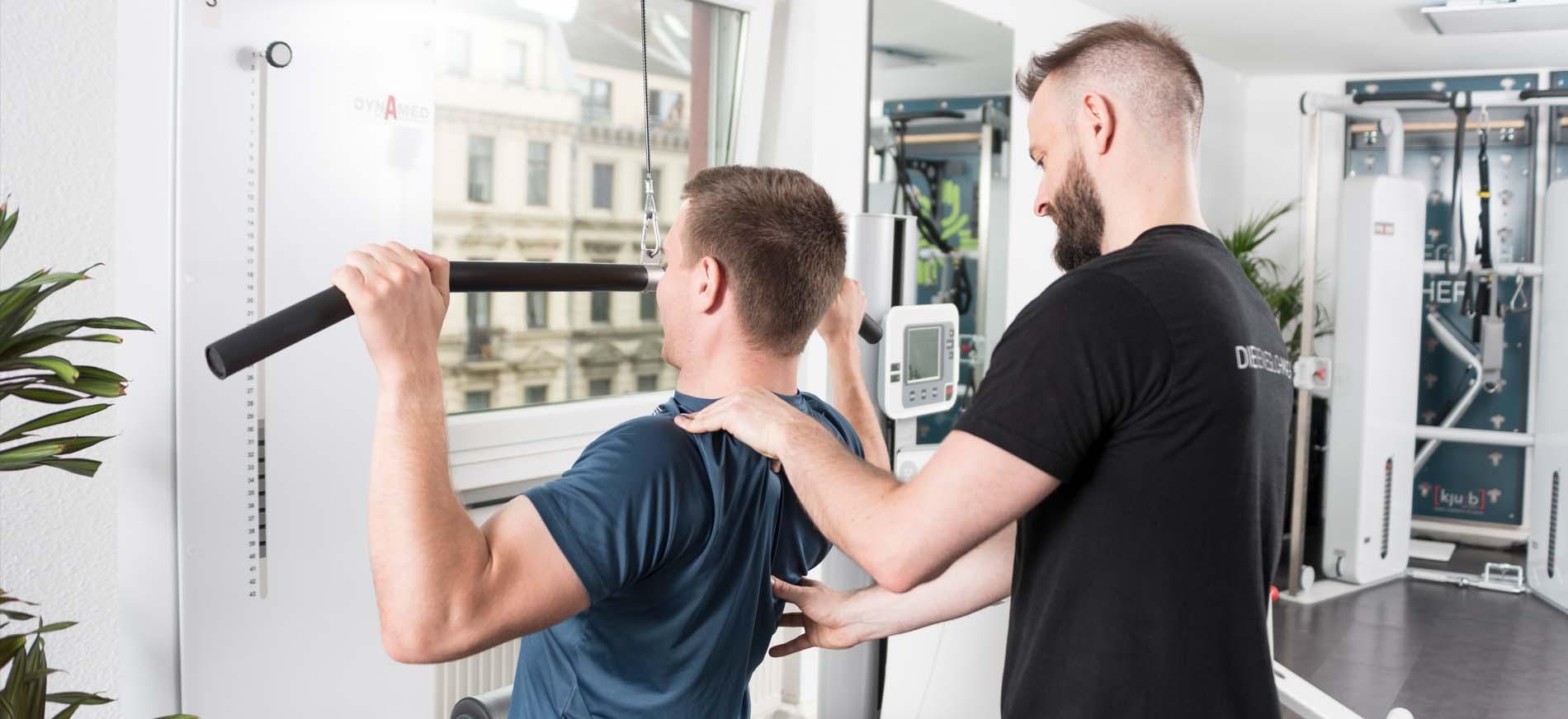 Muskelaufbau mit Physiotherapie in Köln